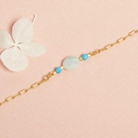 Bracelet Brésil Amazonite