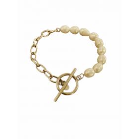Bracelet Acier et Perles